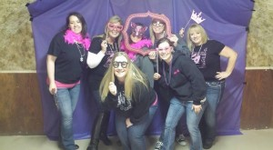 Cancer Crusher volunteers having fun